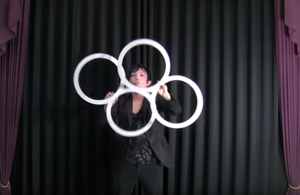 Magic Ring Juggling
