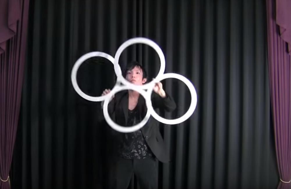 Magic Ring Juggling